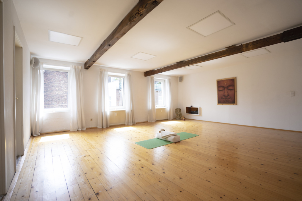 Rundum Yoga Studio Pempelfort Raum