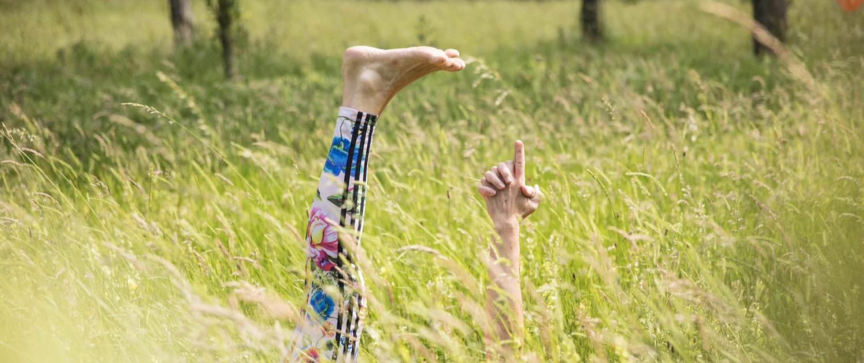 Rundum Yoga Susanne Wenke Nordpark liegend
