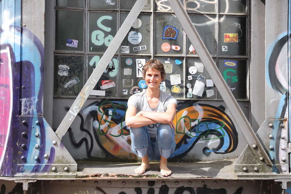 Susanne Wenke Kran Hafen Duesseldorf