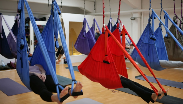 Air Yoga Workshop Susanne Wenke Rundum Yoga Düsseldorf