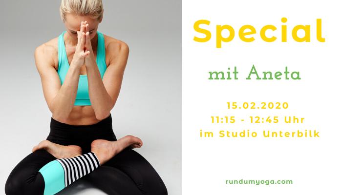 Special Vinysas Klasse mit Aneta Gäb mit dem Titel Der Weg zum Lotus Rundumyoga Düsseldorf