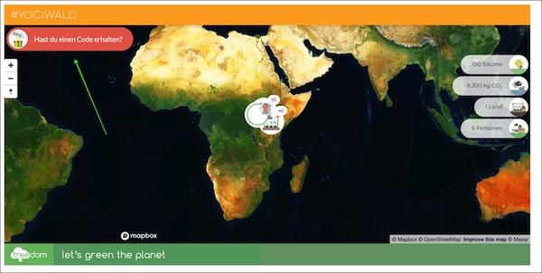 YogiWald Map