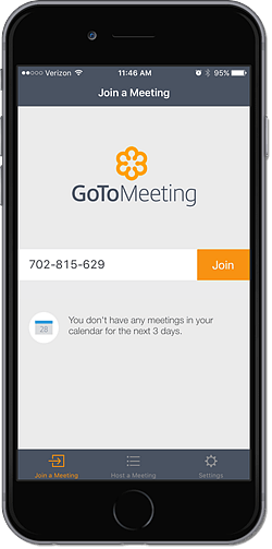 GoToMeeting Mobile App