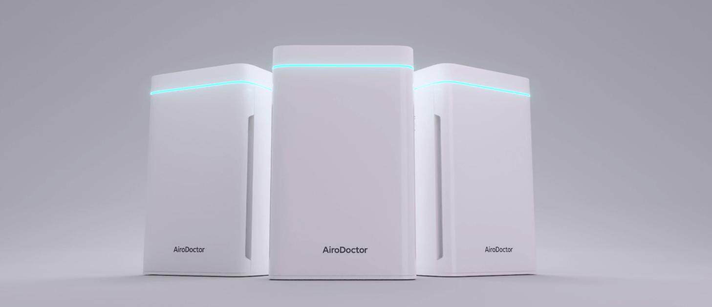 AiroDoctor® in action bei Rundum Yoga für virenfreie und saubere Luft in den Studios
