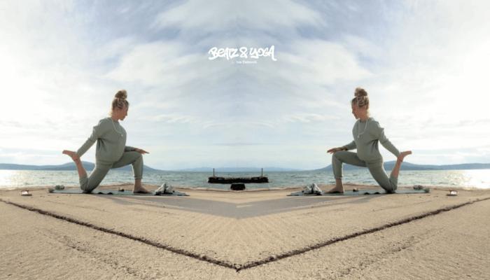 Iva Dekovic Beatz and Yoga bei Rundum Yoga Duesseldorf