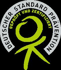 Deutscher Standard Praevention geprueft und zertifiert durch die Zentrale Pruefstelle Praevention