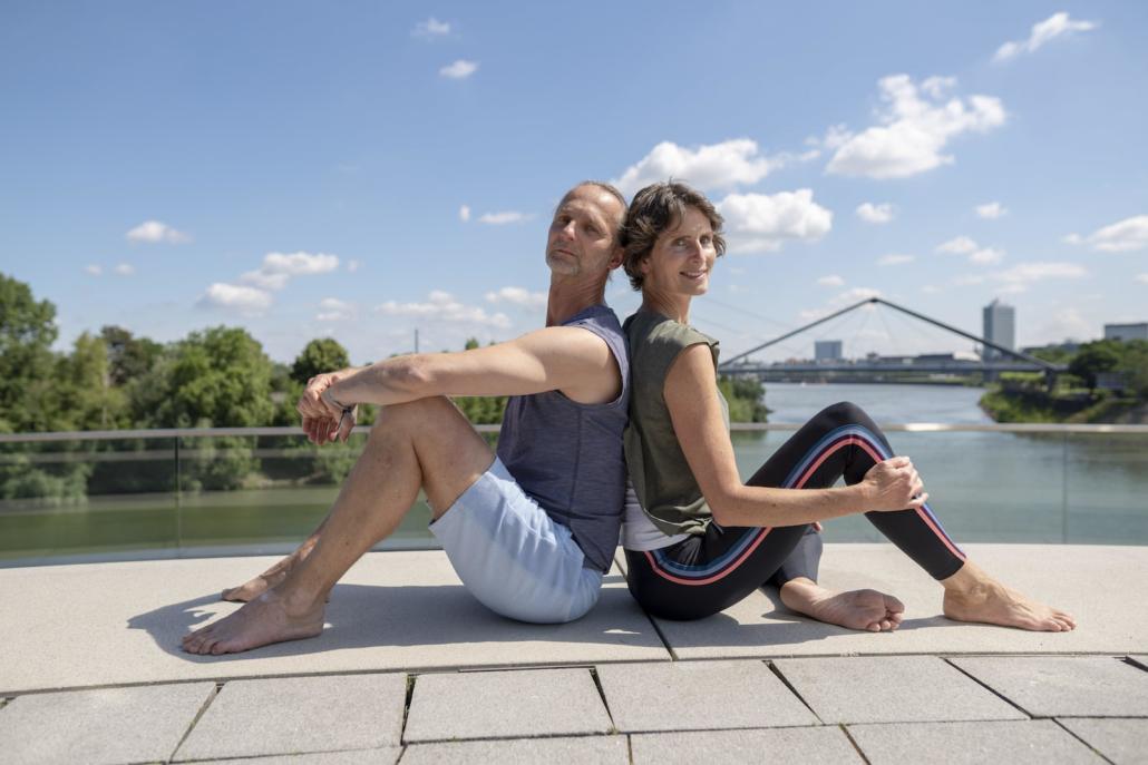 Outdoor Yoga mit Rundum Yoga Duesseldorf2