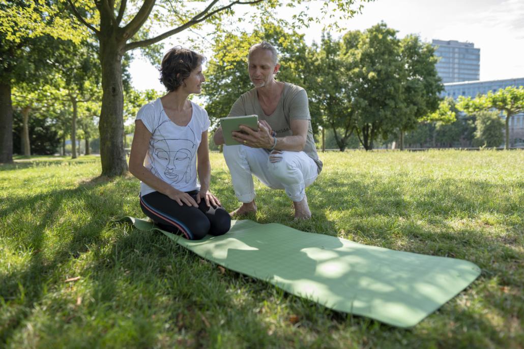 Outdoor Yoga mit Rundum Yoga Duesseldorf3